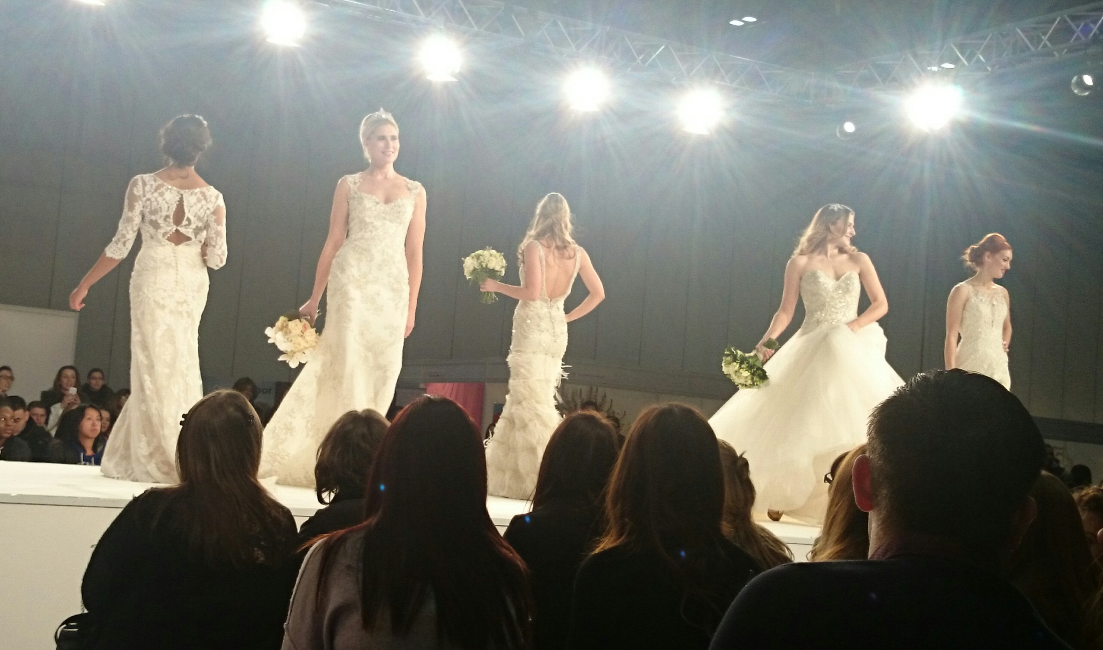 Afternoon at the Excel Wedding Show